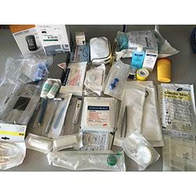 Notfallausrüstungs Set , Teil A Erwachsene - für Notfallkoffer/Rucksäcke