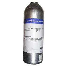 Prüfgasflasche für Atemgasanalysegerät ToxCOmulti