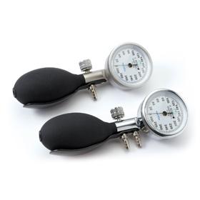 Manometer-Gehäuse für RR-Geräte, 2-Schlauchsystem
