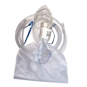 Sauerstoffmaske mit Resovoirbeutel, phthalatfrei