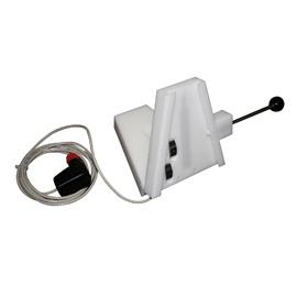 Aufnahmeplatte mit Elektrik für Spritzenpumpe Pilot A2
