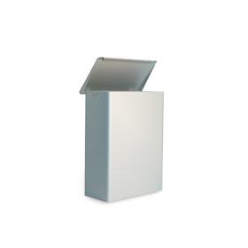 Abfallbehälter Alumium mit Deckel, 6 oder 15 Ltr.