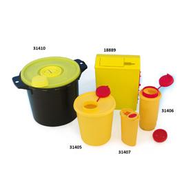 Kanülen-Sammler / Kontamed-Box