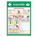 Rettungszeichen Anleitung zur Ersten Hilfe