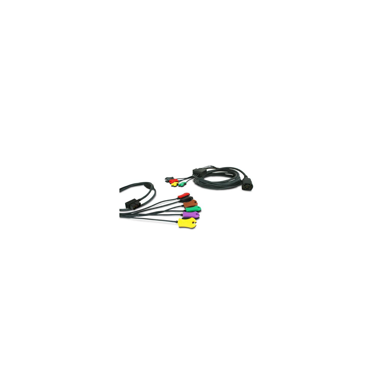 12-Kanal EKG-Kabel für Zoll Defibrillatoren der M-Series CCT, M- und ...