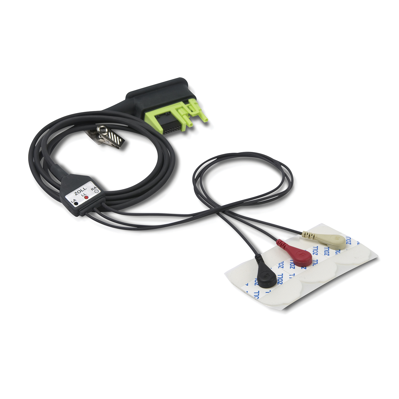 EKG-Kabel 3-polig für ZOLL AED Pro Defibrillator - AED Pro, EKG ...