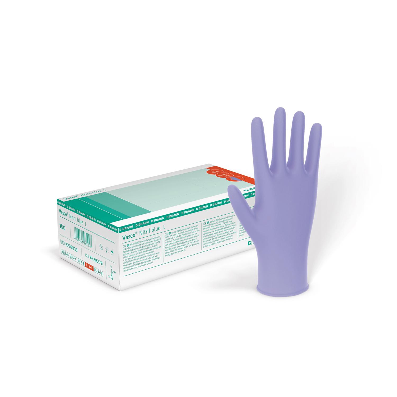 Handschuhe Vasco Nitril Blue Puderfrei Handschuhe